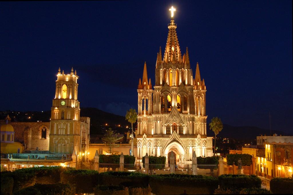 San Miguel de Allende, el santuario colonial