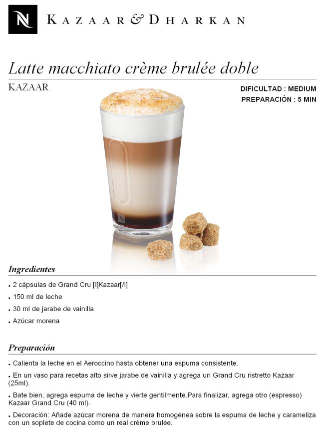 Latte Macchiato Cr 232 Me Brul 233 E Doble Revista El Conocedor