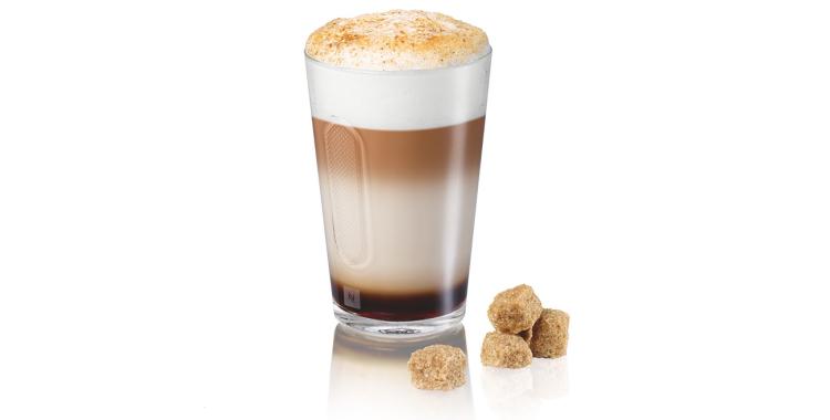Latte Macchiato Crème Brulée Doble