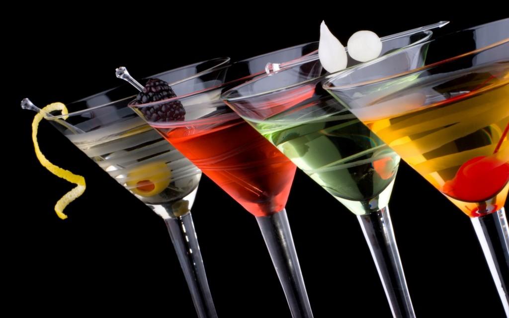 Cocteles con vodka, sensualidad entre copa y copa