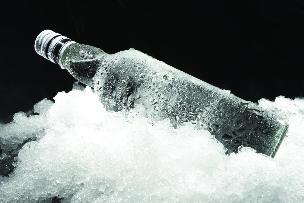 La pureza del Vodka