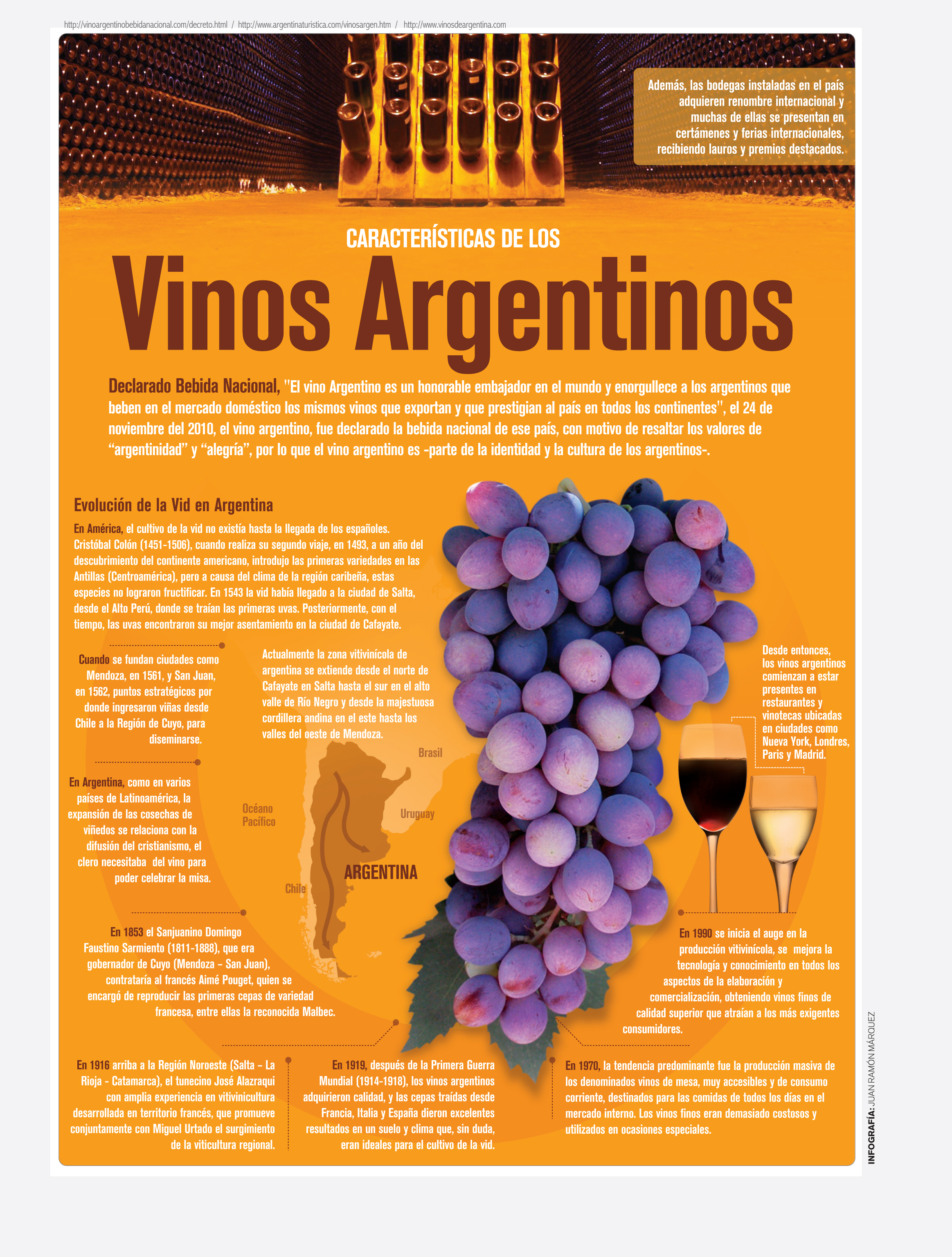 Caracter sticas de los vinos argentinos revista el conocedor for Revistas del espectaculo argentino