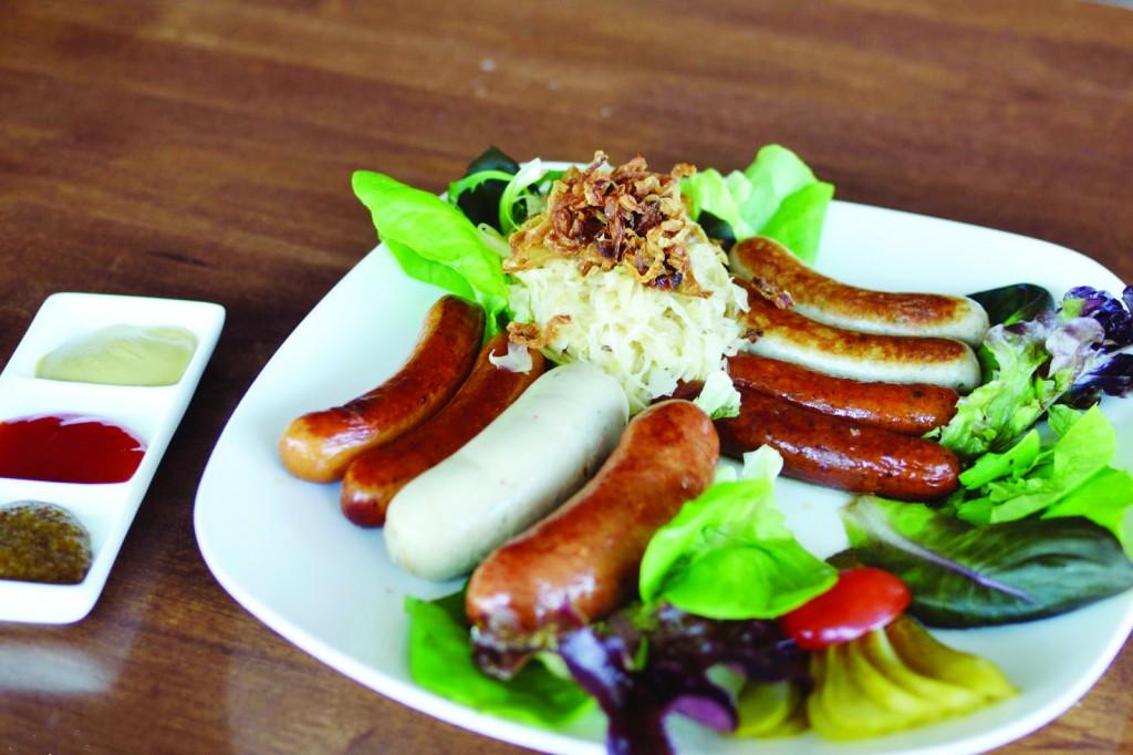 Salchichas alemanas o el arte del embutido gourmet