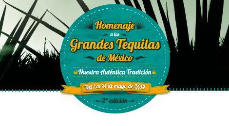 Homenaje a los grandes Tequilas de México