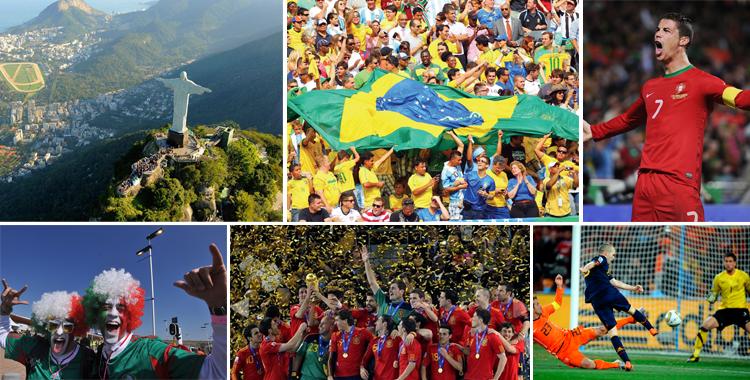 Brasil 2014. La fiesta más grande está por comenzar