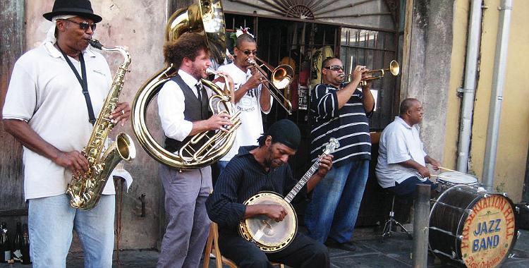 De fiesta por Nueva Orleans: la ciudad del jazz