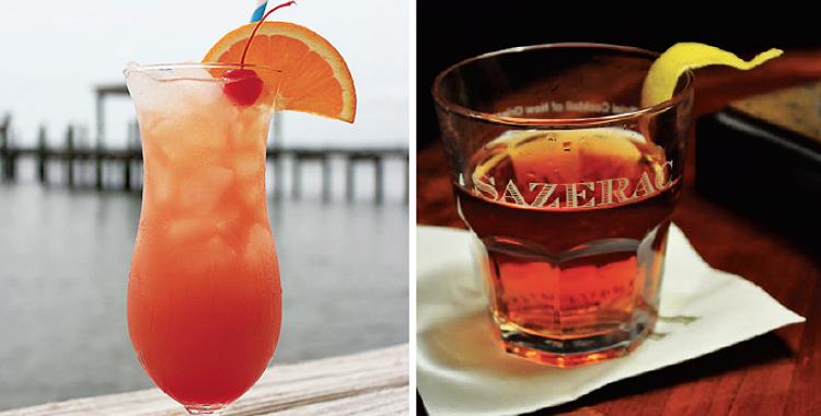 Cocteles con sabor a Nueva Orleans