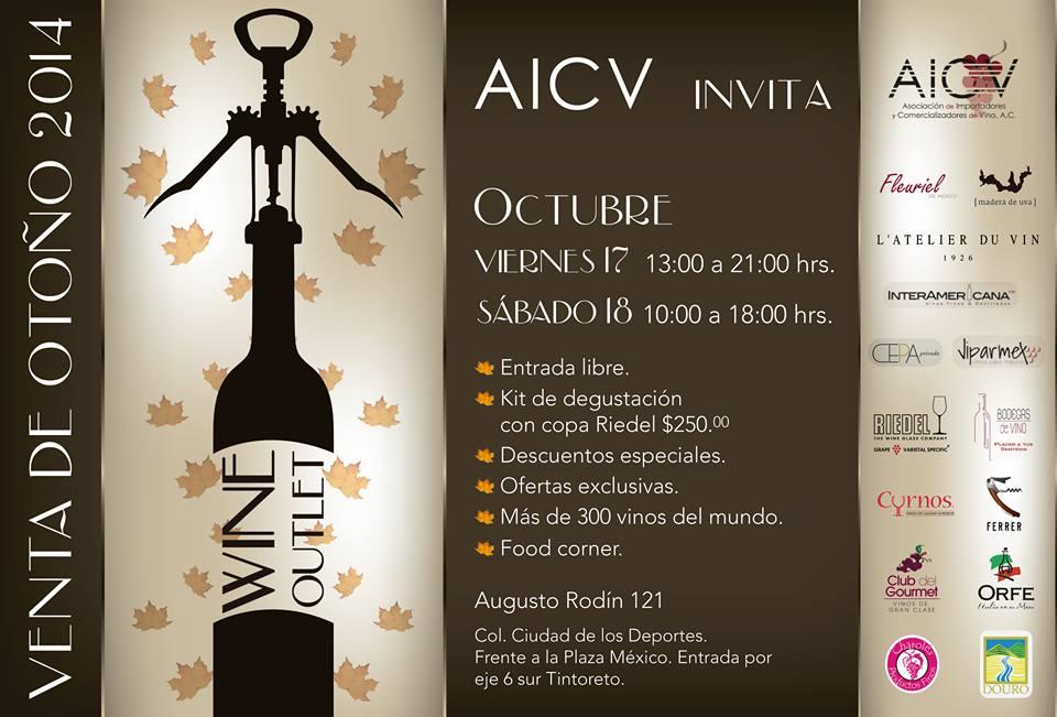 Venta de otoño 2014 de la AICV