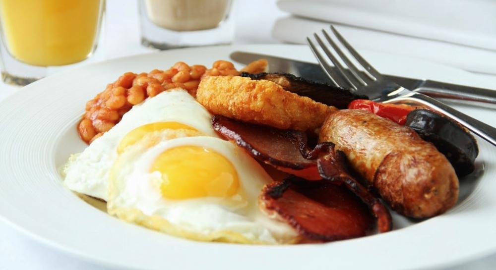 Un desayuno inglés