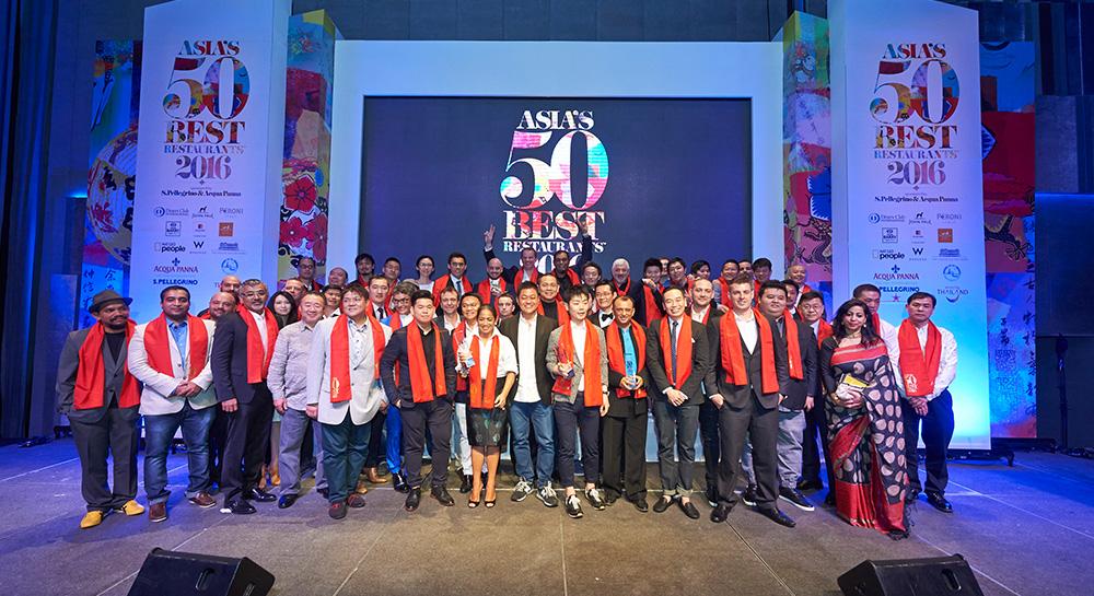 Asia's 50 Best Restaurants 2016