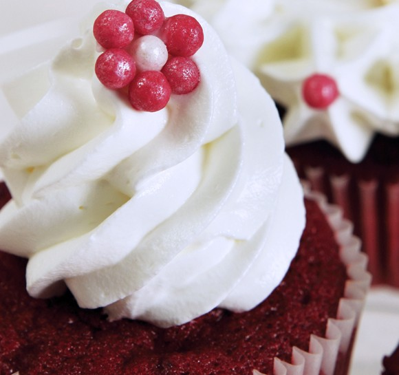 Receta: Cupcakes para San Valentín
