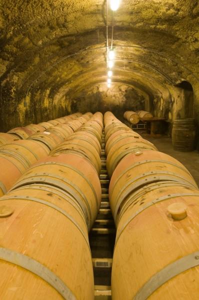 Beringer wine cellars