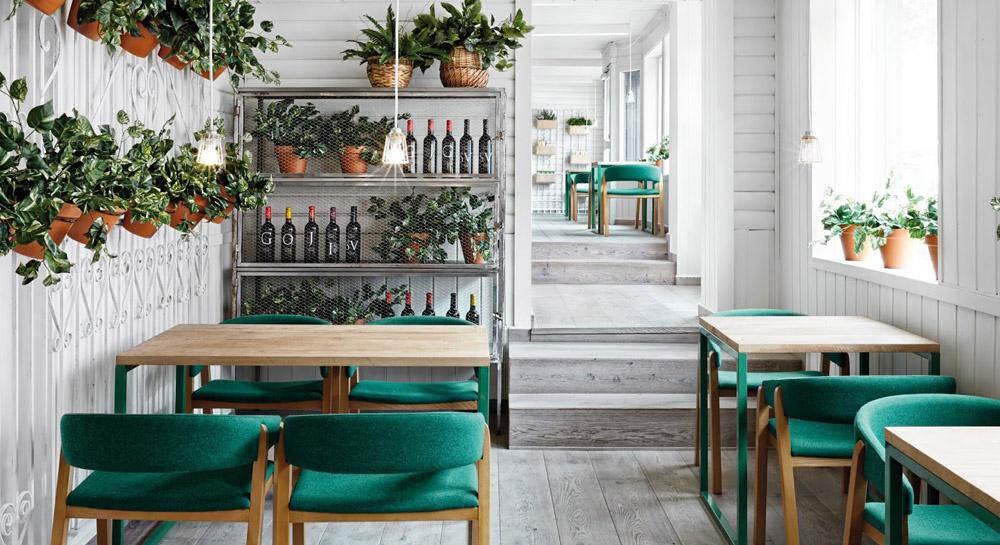 Dise o de restaurantes factores que influyen en una for Imagenes de disenos de interiores de restaurantes