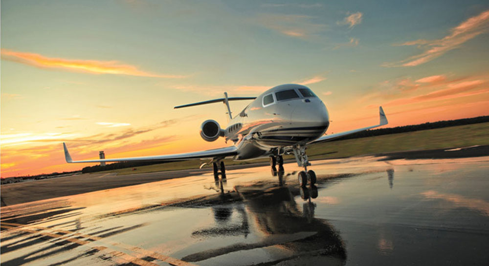 Aviones de lujo revista el conocedor for Imagenes de oficinas de lujo