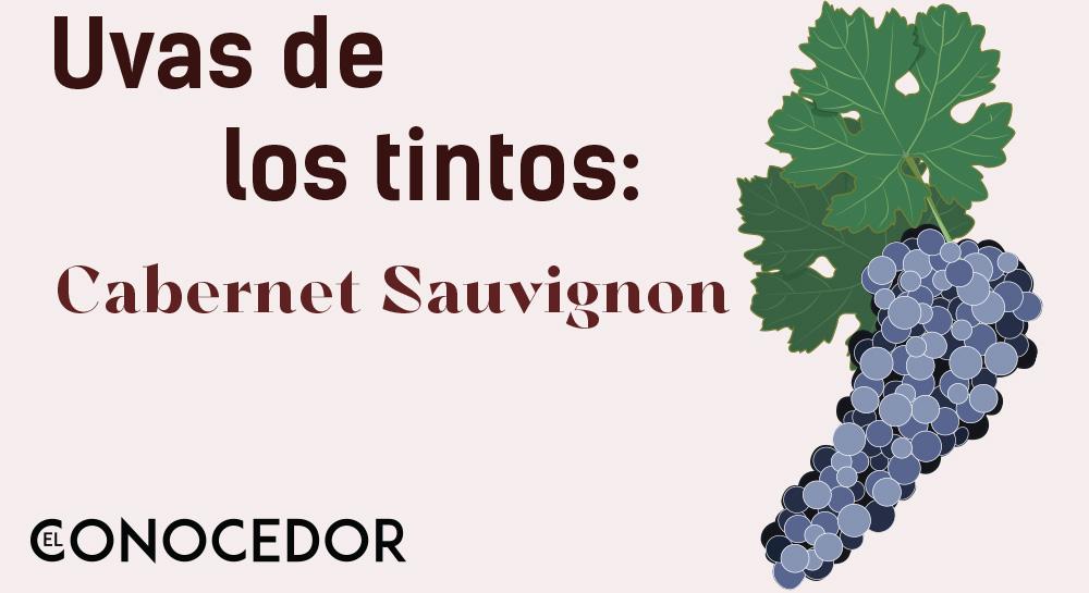Las uvas de los vinos tintos: Cabernet Sauvignon