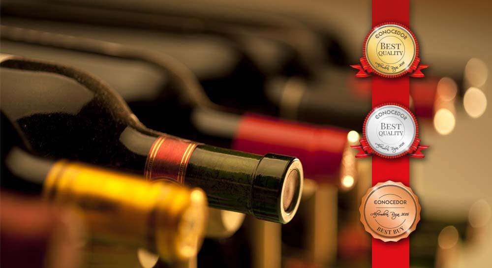 Coronando a los mejores vinos de la Alfombra Roja 2016.