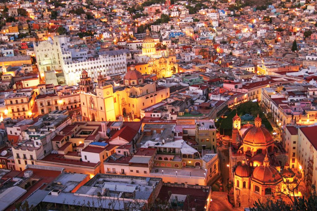 Tesoros coloniales de Guanajuato