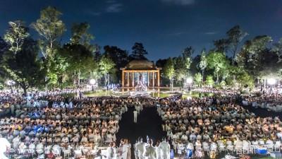 Le Dîner en Blanc celebra sus primeros 5 años en la Ciudad de México