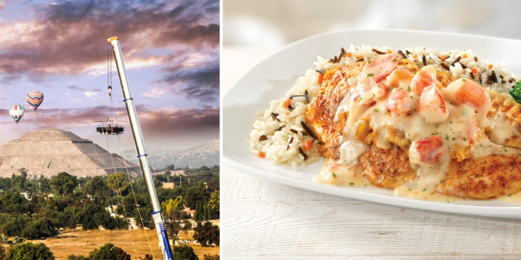 Dinner in The Sky by Red Lobster