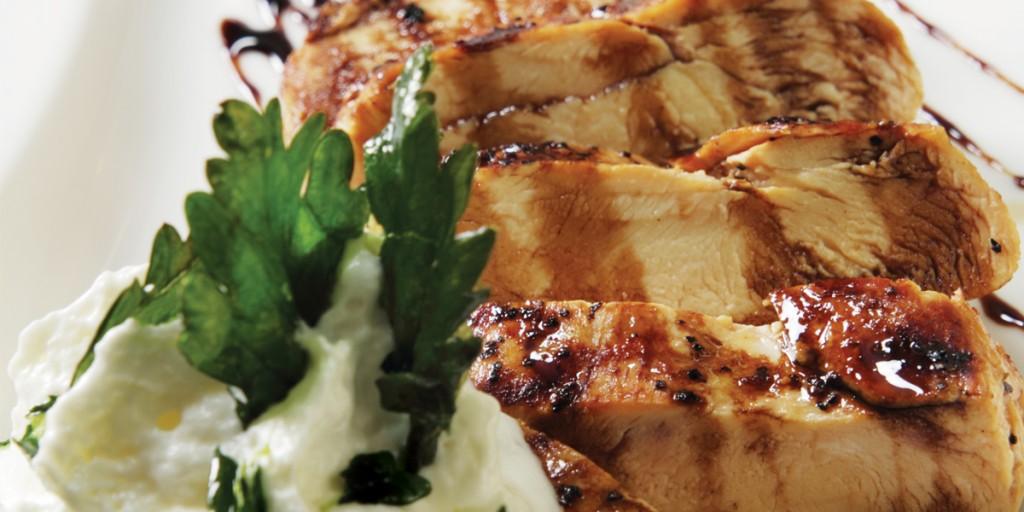 Pechuga de pollo al grill