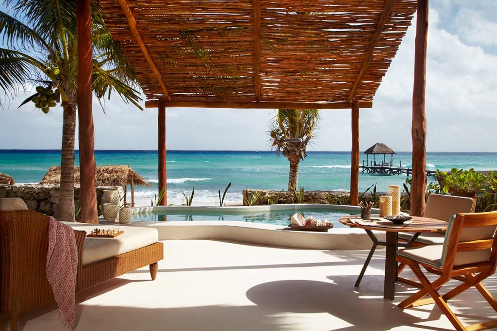 Viceroy Riviera Maya: sol, playa ¡y vino!