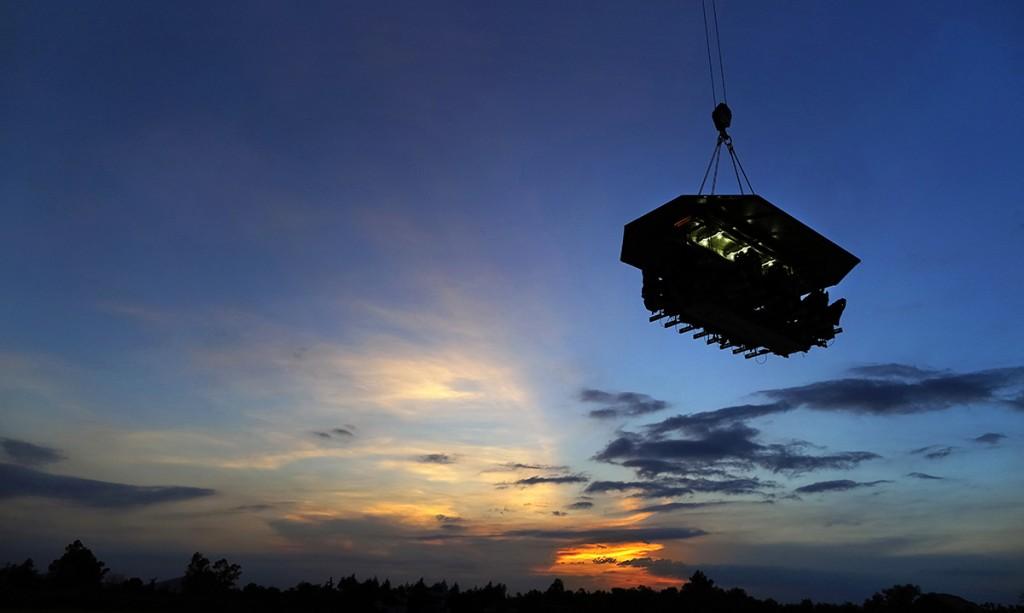 Dinner in the Sky llega a Puerto Vallarta