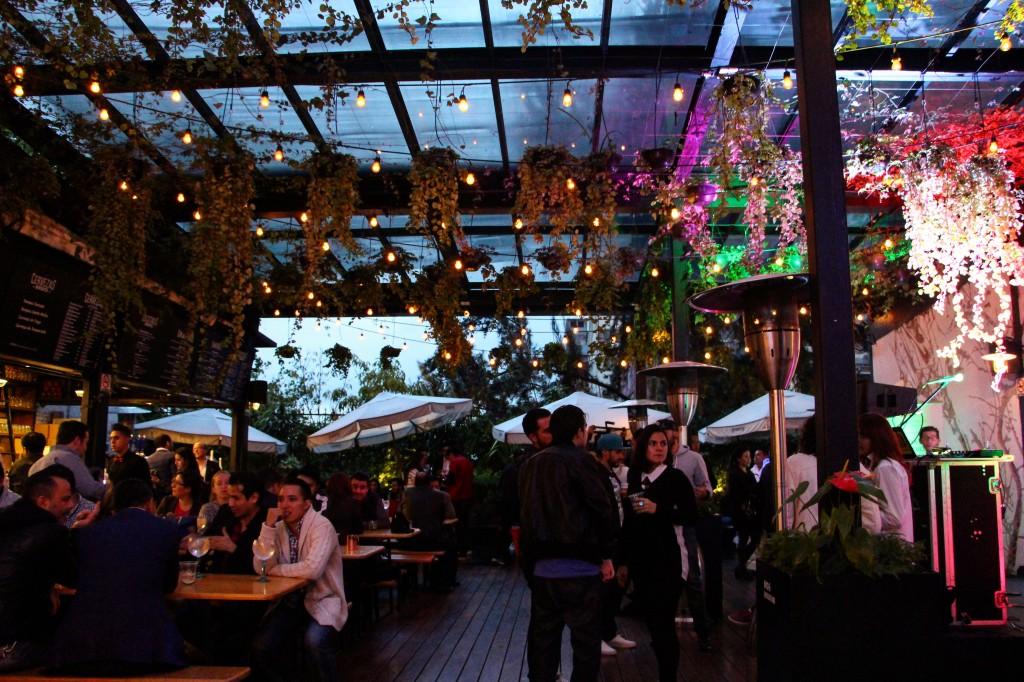 Biergarten, el jardín cervecero de la Roma