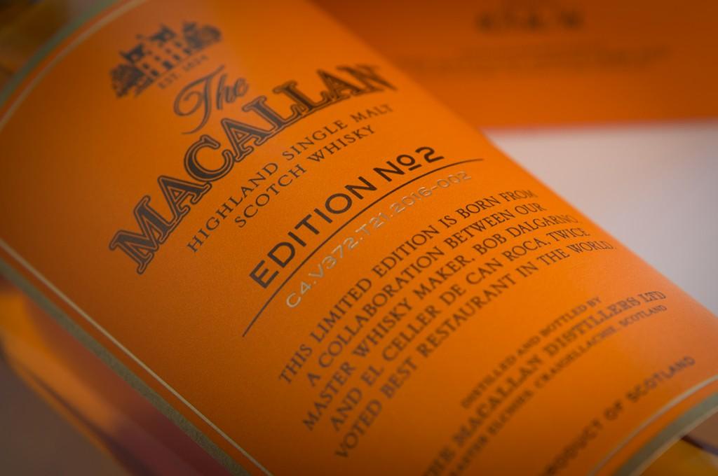 The Macallan Edition Nº2, un whisky que desafía las expectativas