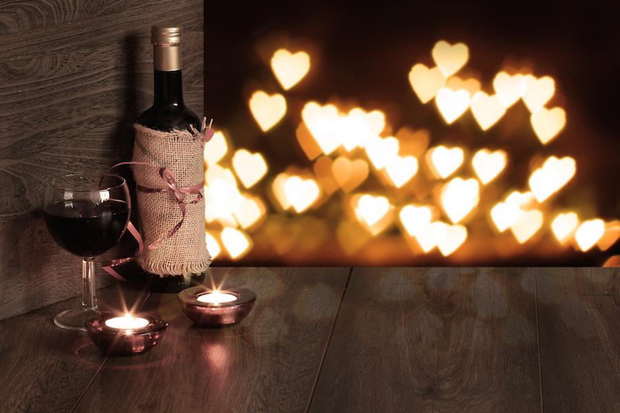 Menú para una velada romántica