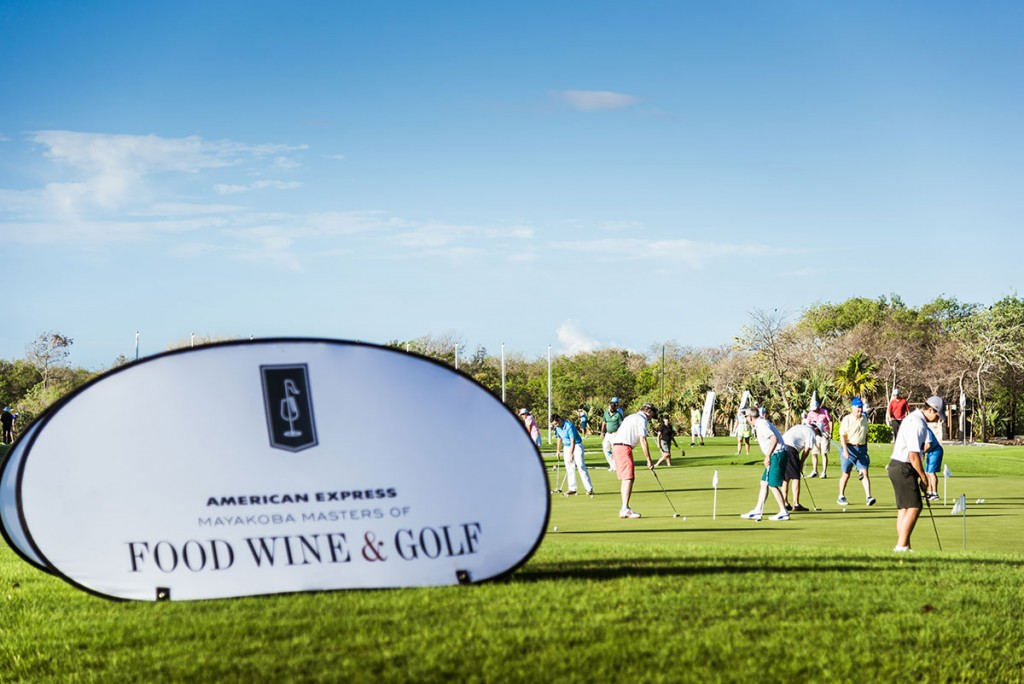 "Mayakoba celebró el ""Masters of Food, Wine & Golf"""