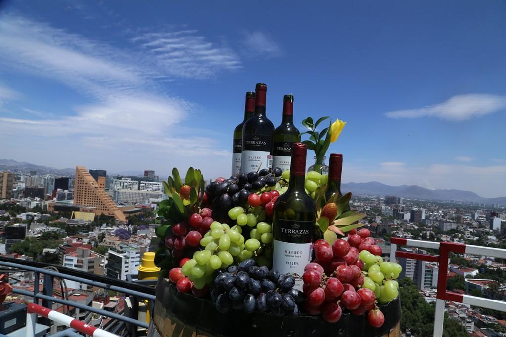 Terrazas De Los Andes A 100 Metros De Altura Revista El