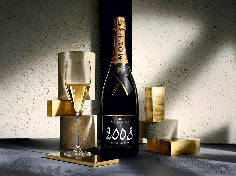 Moët & Chandon presenta el nuevo Grand Vintage 2008