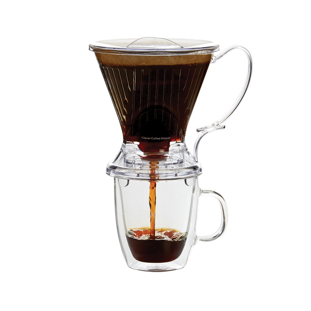 2.-Clever-Coffee-Dripper.-Goteador-escultural-con--forma-cónica-estratégica-y-un-asa-cómoda-para--verter-el-café-a-sus-especificaciones-exactas.