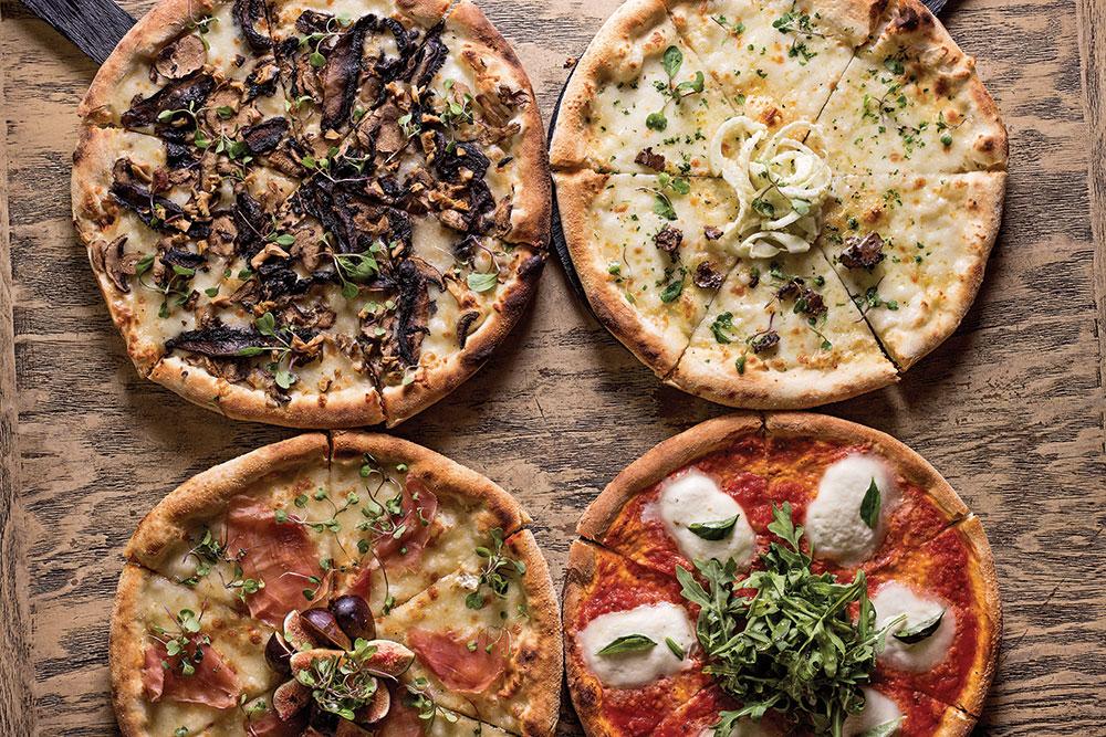 Maridaje de pizza y vino