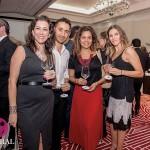 Tanya Moss, Roberto Hernández, Ada Stiker y Andrea de la Garza. (Revista Central)