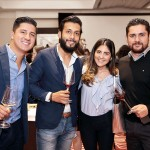 Ricardo Ulloa, Daniel Huerta, Ana Denisse Cuevas, y Leopoldo Luna.