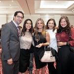 Alejandro Navarrete, Elis Peral, Elisa Villarreal, Tatiana Torres y Bibiana Parra-