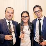 Elías Castro, Daniela Nolasco y Rodrigo Luna.