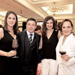 Brenda Calderón, Esaú Pérez, Sandra Fernández y Gina Estrada.