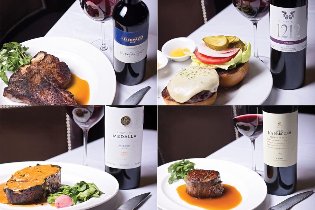 Chile y Argentina para maridar carne