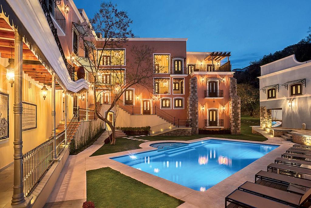 Hotel Villa María Cristina en Guanajuato