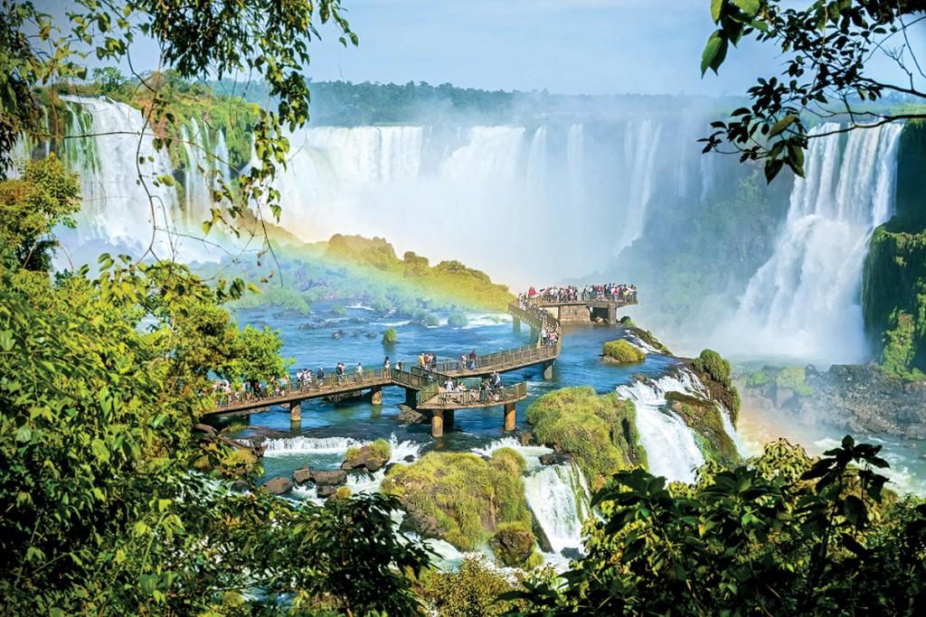 Aguas grandes, las cataratas de Iguazú