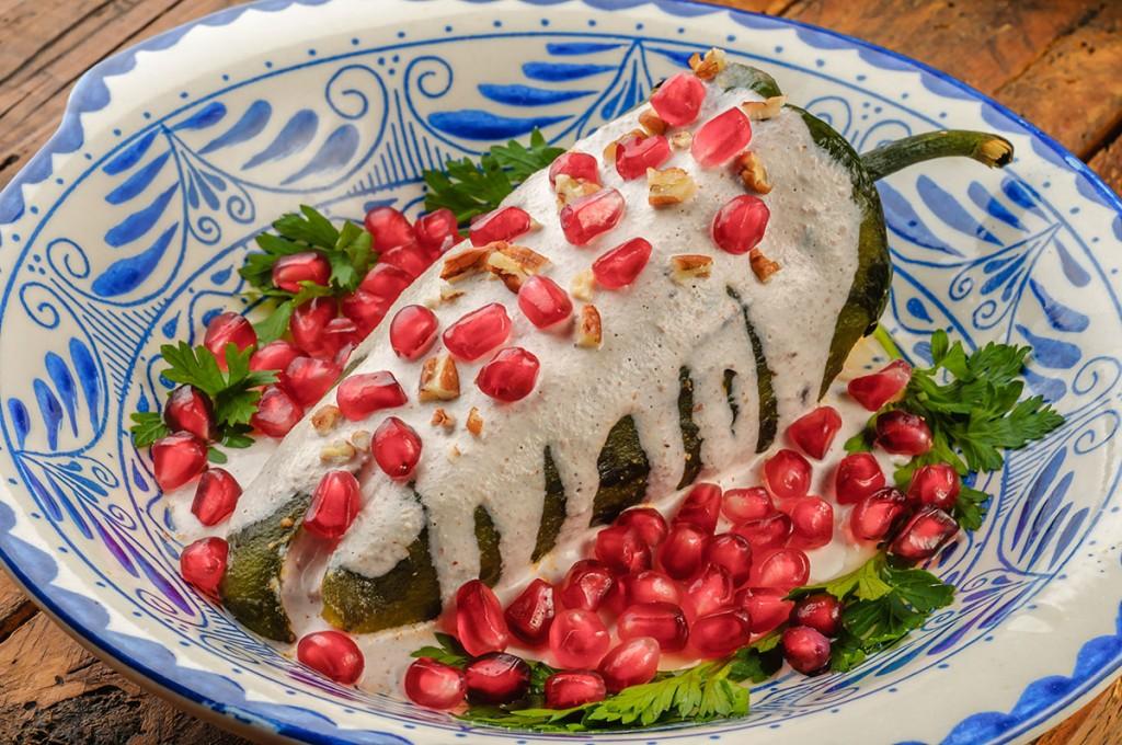 Top 10 chiles en nogada