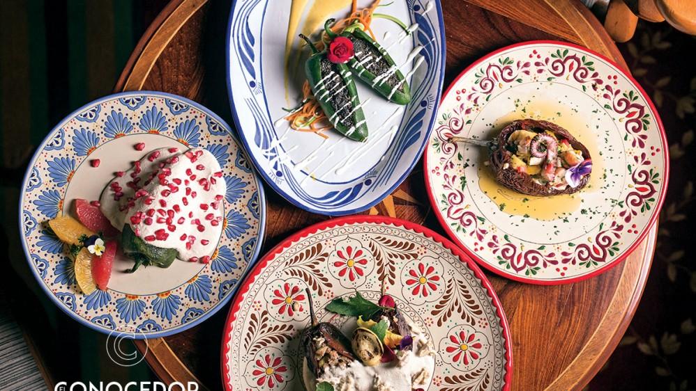 Chiles y vinos mexicanos