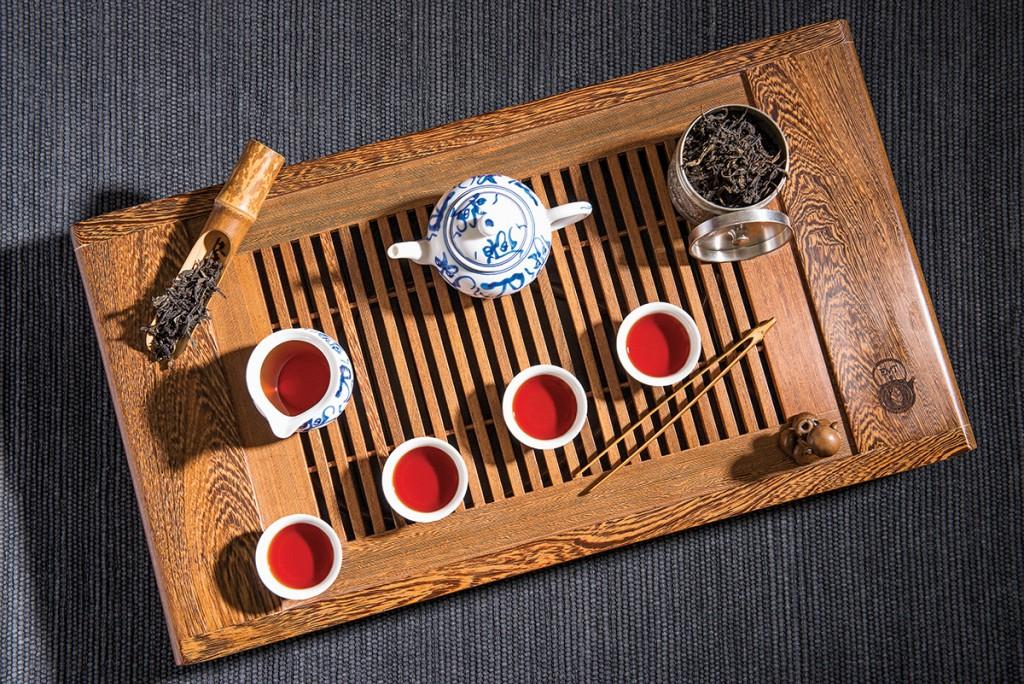 El ritual oriental del té (parte 1)
