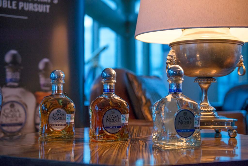 Tequila Casa Noble presenta su gama de tequilas, la estrella de la noche: Selección del Fundador