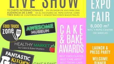 Cake & Bake Masters 2017, el festival de repostería más grande de Latam