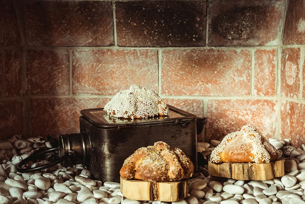 Tres diferentes recetas de pan de muerto, creación de Andaz Mayakoba