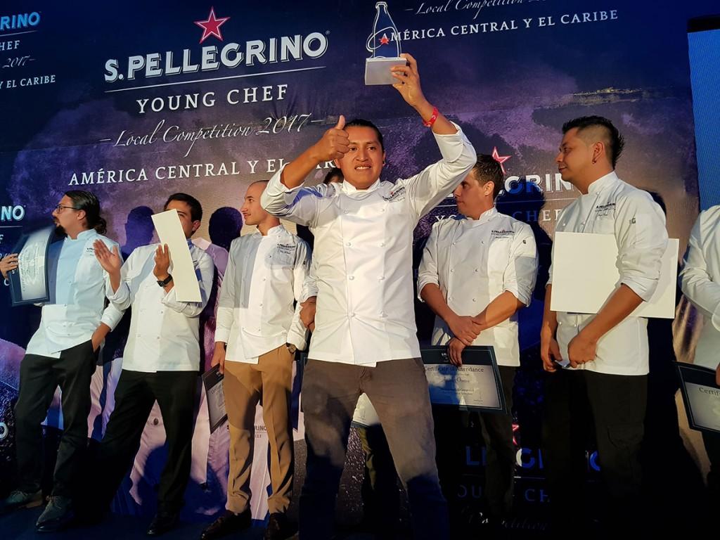 José Óscar Casimiro Segundo, chef mexicano, representará a América Central y el Caribe en la final de S.Pellegrino Young Chef 2018