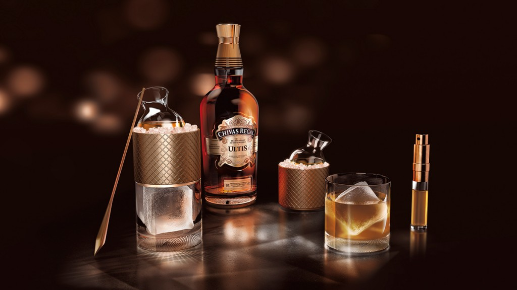 Chivas Regal presenta su 1er blended malt Scotch whisky: Chivas Regal Ultis